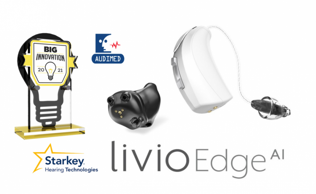 Starkey's Livio Edge AI Wins 2021 BIG Innovation Award